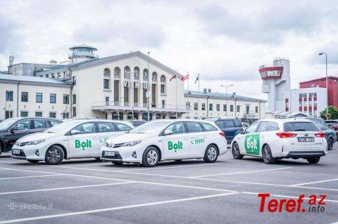 """""""Bolt"""" taksi xidməti müştəriləri aldadır -"""