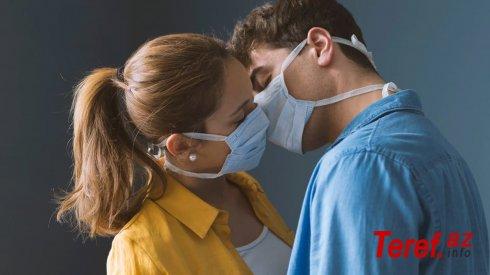 Koronavirus öpüşlə keçir, cinsi əlaqə ilə yox -