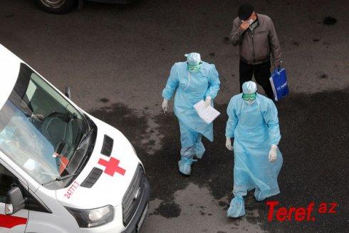Rusiyada koronavirusa yoluxmada qəfil artım qeydə alınıb