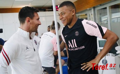 Messi Mbappedən 18 milyon avro çox maaş alır