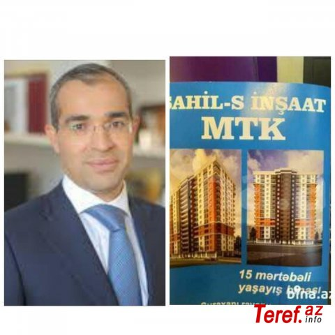 """Sahil-S İnşaat"" MTK-dan vergi cinayəti -"