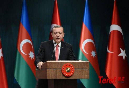 Ərdoğandan Azərbaycan açıqlaması: