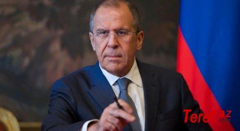 """Lavrov: """"ABŞ Əfqanıstandan nəticəni düşünmədən geri çəkilib"""""""