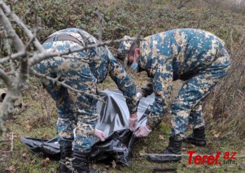 Daha iki erməni hərbiçisinin leşi tapıldı