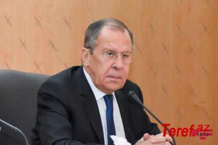 Lavrov BMT rəsmisi ilə Qarabağdakı humanitar vəziyyəti müzakirə edəcək